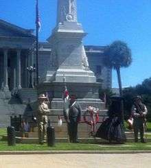 Confederate Memorial Day observance in Alabama