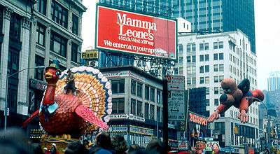 The 1979 Macy's Thanksgiving Day Parade.