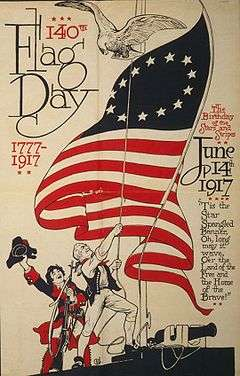 Flag Day is observed in Pennsylvania.