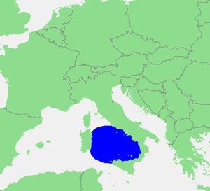 第勒尼安海(或译提雷尼亚海;英语:tyrrhenian sea;意大利语:mar图片