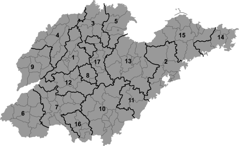 青岛环翠山区地图